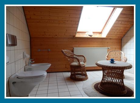 Bad mit Sitzecke